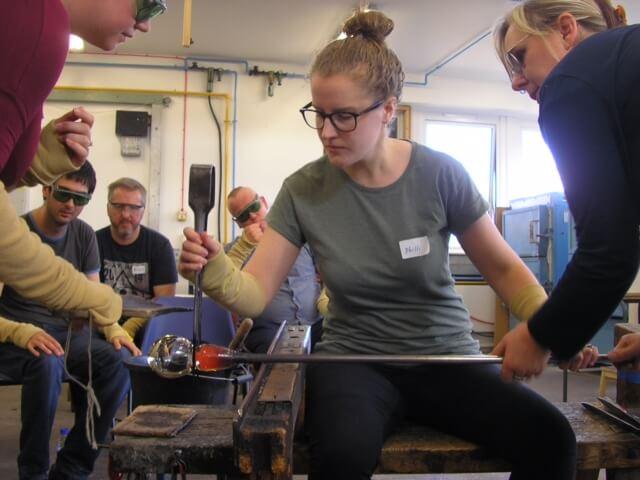edinburgh ingrid phillips glass workshop